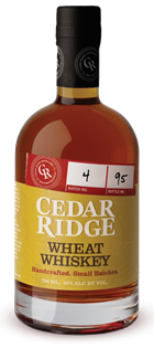 Cedar Ridge Wheat Whiskey 750ml